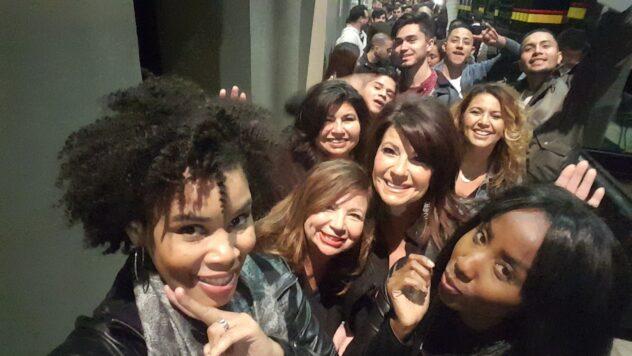 Lauren Koontz, Ambersocialla,T-Mobile UncarrierX: Bruno Mars and the Hooligans