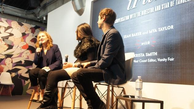 VFSC Vanity Fair Social Club: Tangerine; Krista Smith; Mya Taylor; Sean Baker