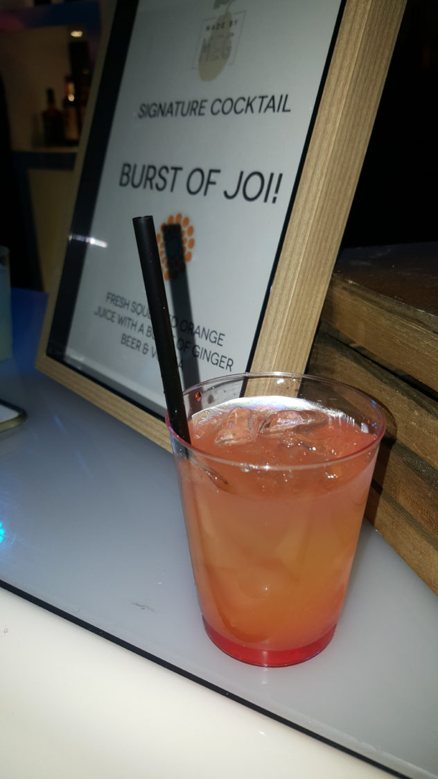 Joiful App Launch Party cocktail