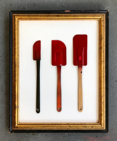 'Kitchen Lineup' - Found Object Art