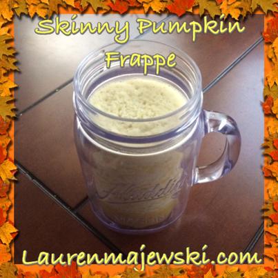 Pumpkin Frappe