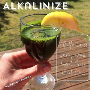 Alkalinize