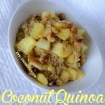 Coconut Quinoa www.laurenmajewski.com