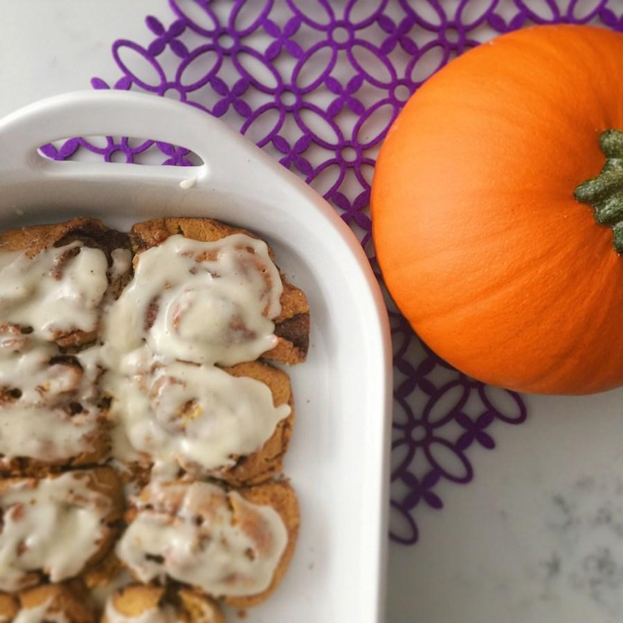 Pumpkin Cinnamon Rolls Lauren Majewski
