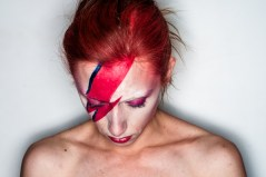 In honour of David Bowie, I recorded covers of three of his songs for the Exclusive Content Project. My friend Elizabeth was a magician and transformed for the photo shoot.