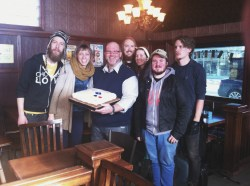 Scott at The Ship & Plough in Gimli, MB made us a cake for reaching 5000 likes on Facebook!
