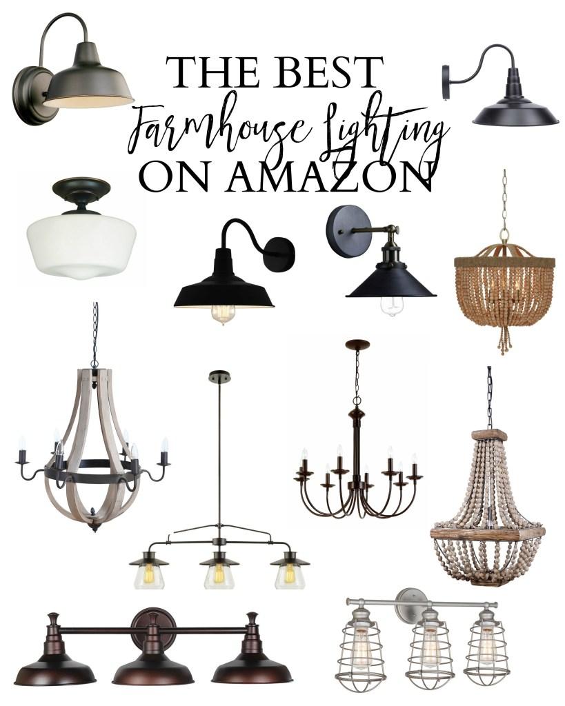 The best farmhouse lighting on Amazon