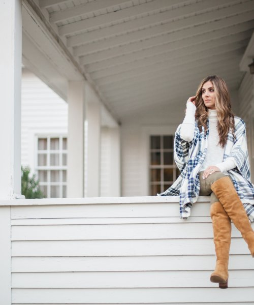 Style // How to Wear Over the Knee Boots