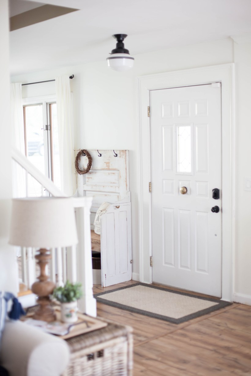Four simple tips on How To Define Your Foyer Space that are easy inexpensive. Whether your foyer is large or small, these tips will offer a high impact!