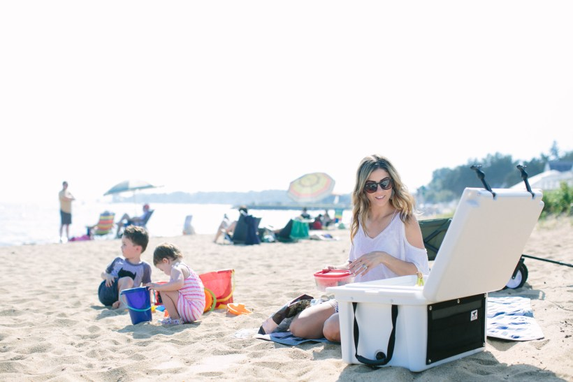Heading to the beach with the kids? Check out these Summer Beach Picnic Essentials for items that will make things go a little smoother!