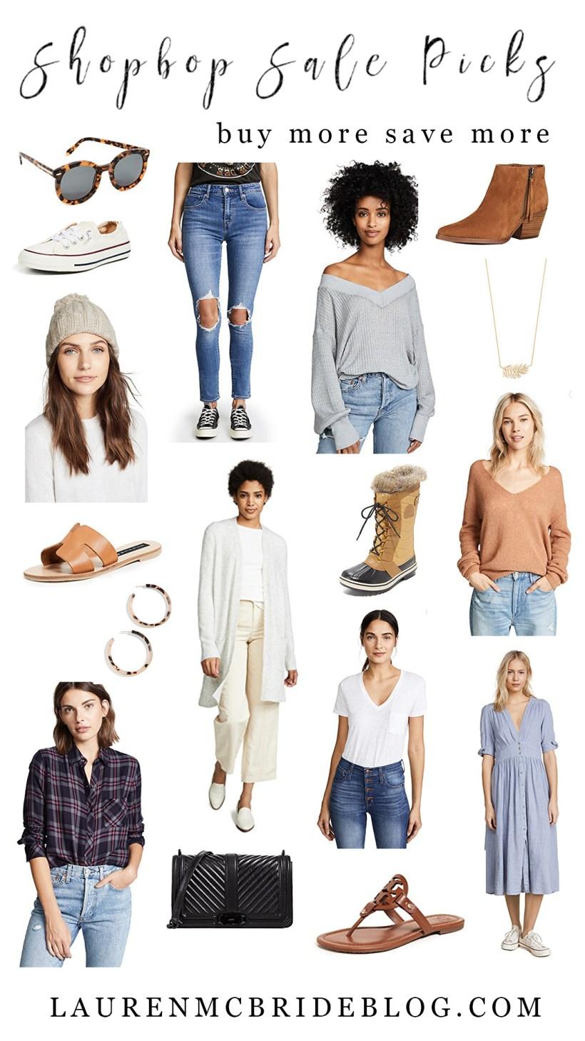 Connecticut life and style blogger Lauren McBride shares her Shopbop September sale picks.Connecticut life and style blogger Lauren McBride shares her Shopbop September sale picks.