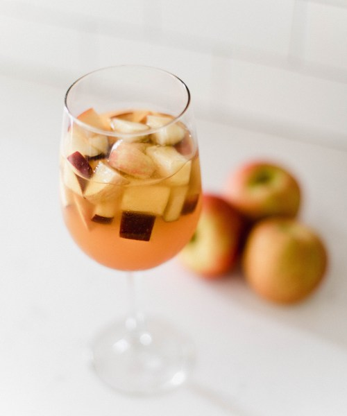 Caramel Apple Cider Sangria