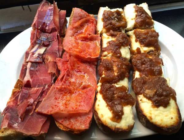 Taberna Almeria Toasts