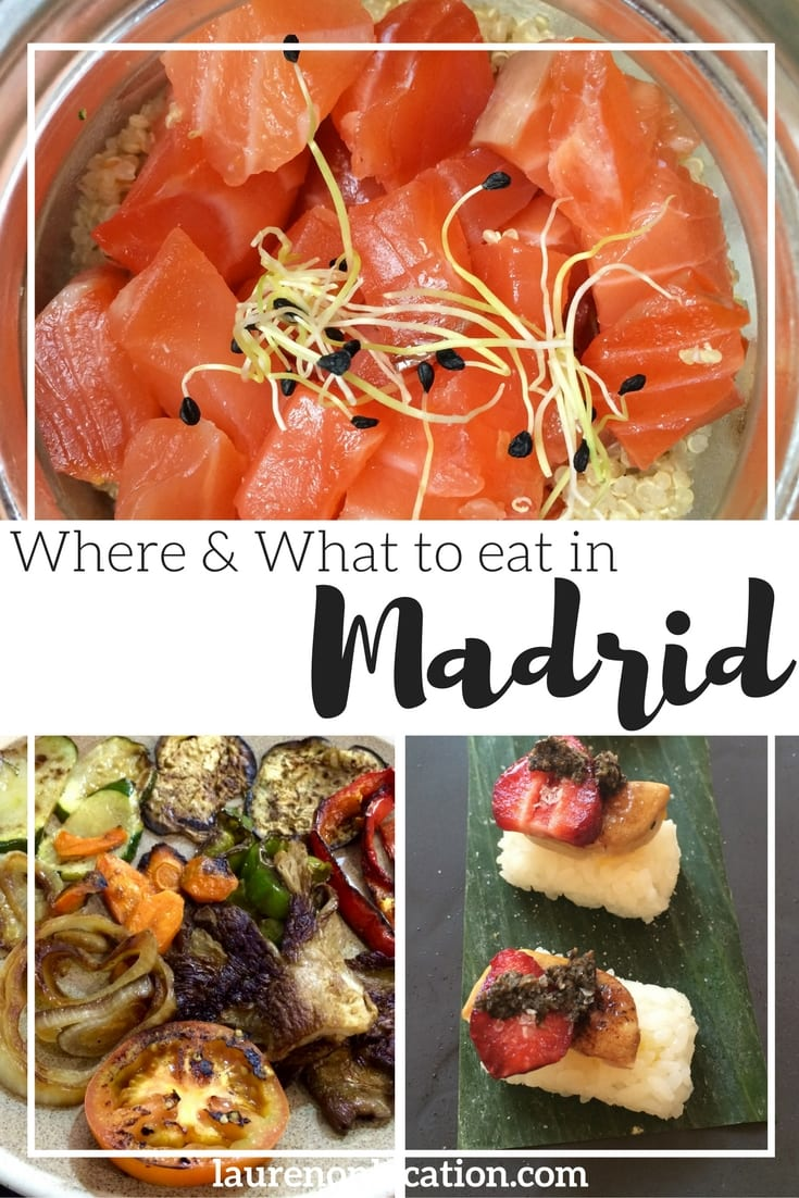Where and what to eat in the city of Madrid. From Spanish classics and sweets to international restaurants and cafés. This guide has something for everyone!