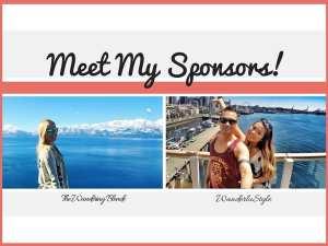 Meet my Sponsors!