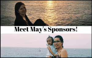 Meet my May Sponsors