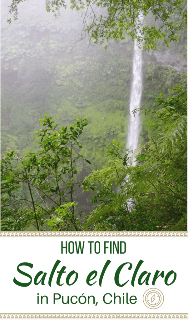 A complete guide on how to find Salto el Claro in Pucón, Chile. Follow the treasure map with added tips for a budget activity in Pucón.