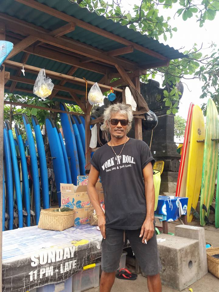 Who to hire your surf boards from in Canggu, Bali!