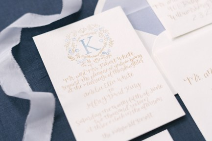 french-blue-gold-watercolor-monogram-calligraphy-invitation-suite-silk-ribbon-1