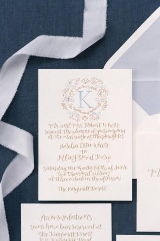 french-blue-gold-watercolor-monogram-calligraphy-invitation-suite-silk-ribbon-2