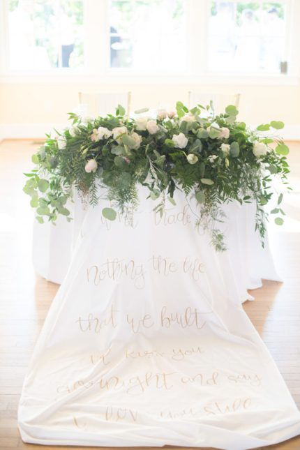 calligraphy-table-linen-gold-backdrop-floral-runner