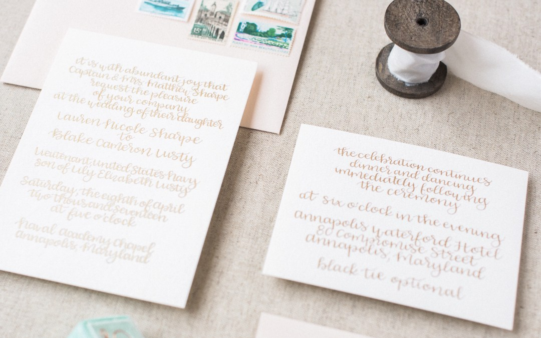 When Should Invitations Be Sent Out For A Wedding: Modern, Southern Wedding Invitations And Calligraphy
