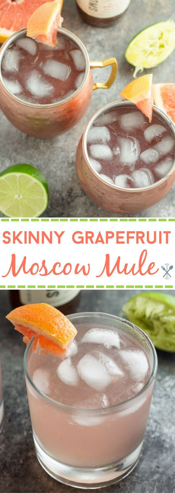MUST DRINK: I am obsessed with anything grapefruit and these skinny grapefruit margaritas look amazing! Get the recipe here.