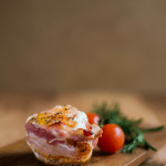 Eggy Bacon Breakfast Muffin (Keto approved!)