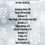 Snowed In! Full Body Workout: No Equipment Required