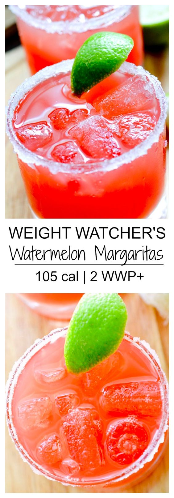 MUST SIP: I'm not typically a drinker, but in the summer I love a refreshing, fruity cocktail. The only problem is that most of them are loaded with sugar. That's why I like making these AMAZING watermelon margaritas! Get the recipe here.
