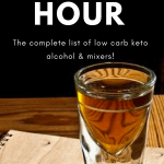 Low Carb Keto Happy Hour