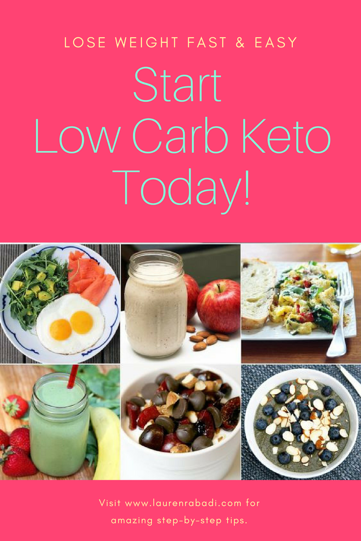 Start Low Carb Keto Today!