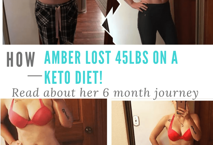 How Amber Lost 45lbs with a Keto Diet! #keto #lowcarb #loseweightfast