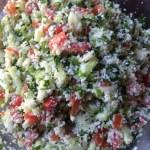 Keto Cauliflower Tabouli