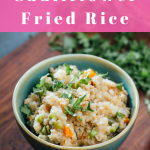 Keto Cauliflower Fried Rice