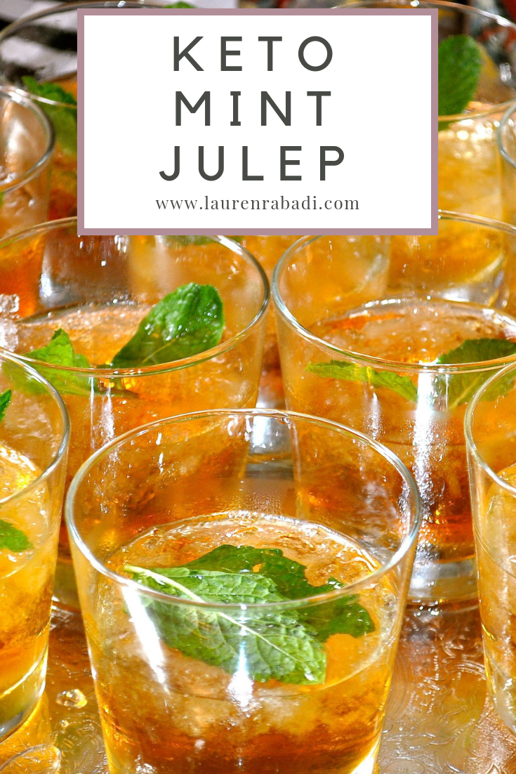 Keto Mint Julep #keto #cocktail #ketococktail #derby #ketodiet #kentuckyderby