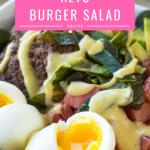 Easy Keto Big Mac Salad