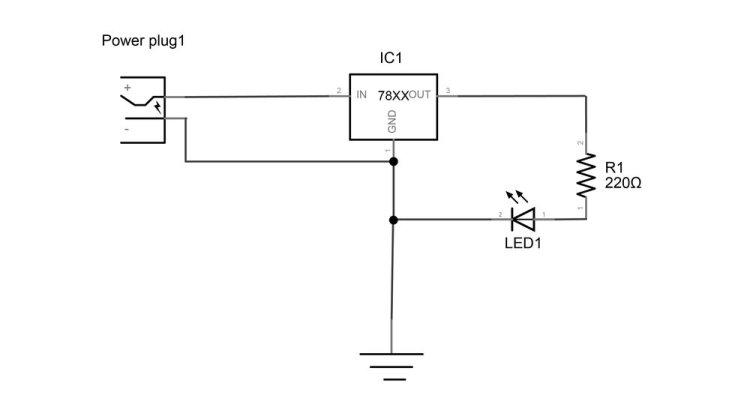 LED Resistor Regulator in Series