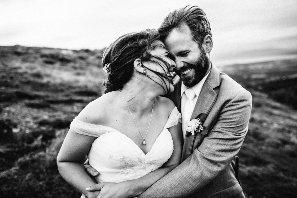 Alaska Wedding Photographer / Hilltop Wedding / ©Lauren Roberts 2016