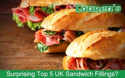 Surprising Top 5 UK Sandwich Fillings?