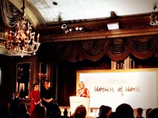 Lauren Book Named 2013 L'Oreal Woman of Worth!
