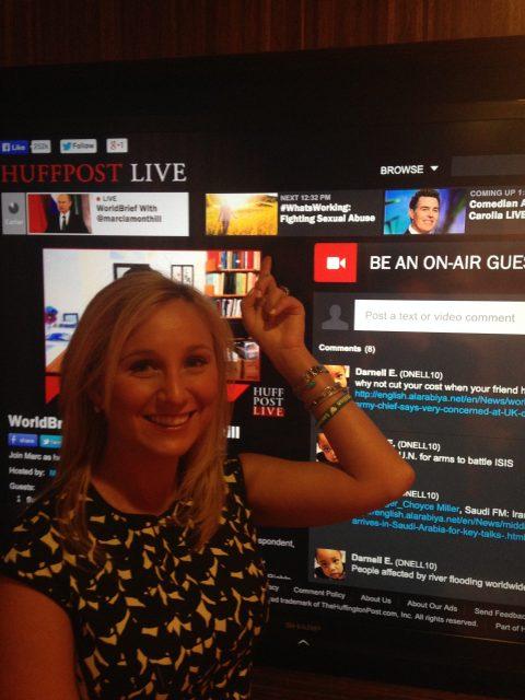 Lauren Book Appears on HuffPost Live