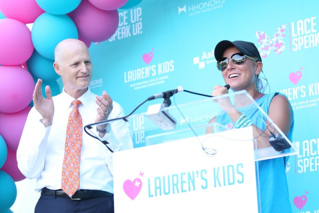 Lauren's Kids' Statewide 'Walk in My Shoes' Journey Culminates with Rally in Tally with Governor and Lt. Governor