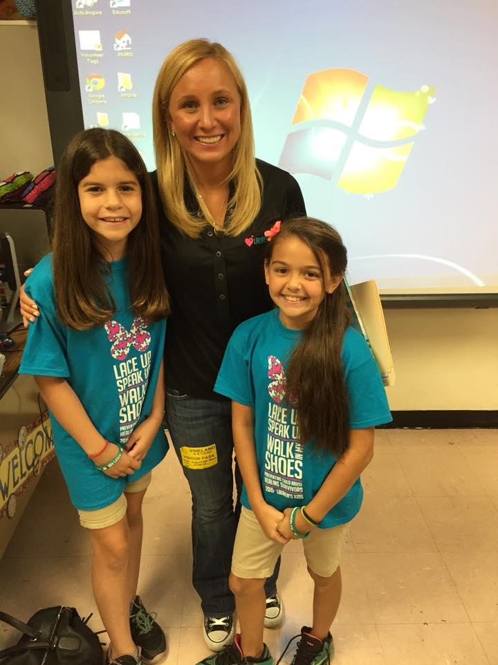 Lauren Book Teaches Children Importance of Using Their Voice at Vineland K-8 Career Day