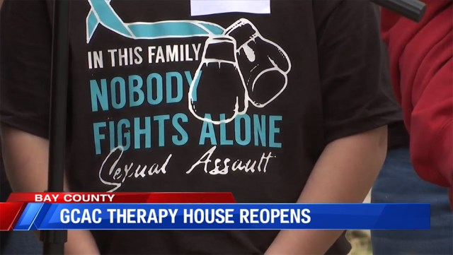 Gulf Coast Children's Advocacy Center celebrates reopening of Therapy House more than 2 years after storm