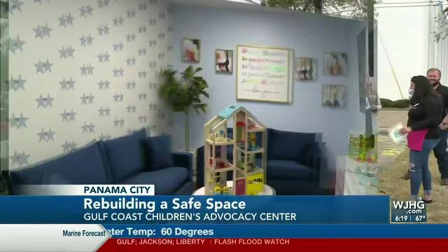 Lauren's Kids and AshBritt reveal New Gulf Coast Children's Advocacy Center Therapy Building