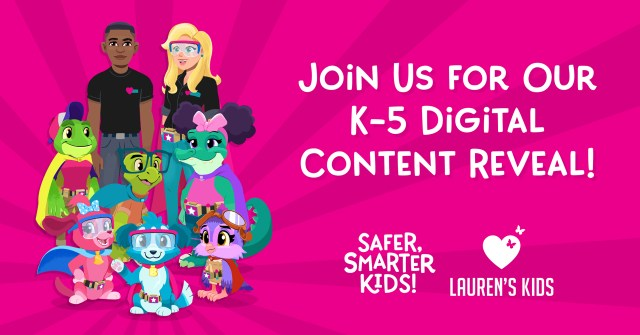 Join Us: K-5 Digital Content Reveal