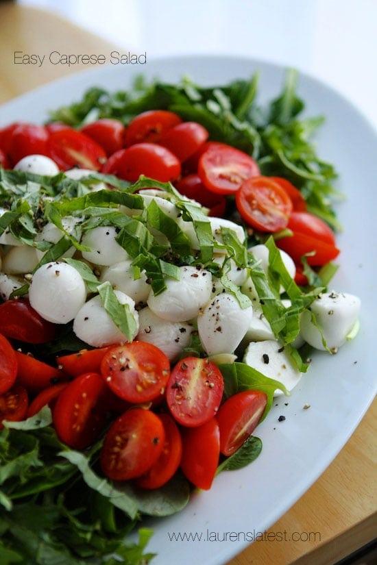 Best Caprese Salad Recipe Plus Dressing Laurens Latest