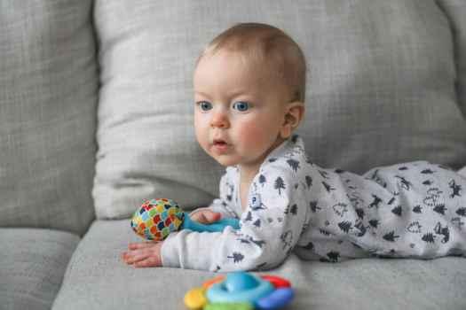 Porter James at 8 months