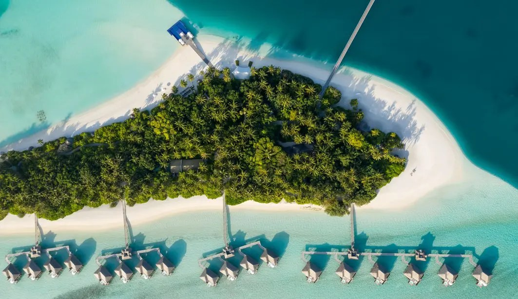 Conrad Rangali Island Maldives - Aerial View